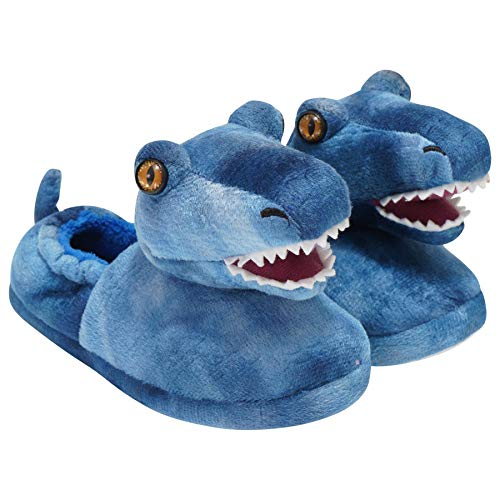 Build-A-Bear Official Novelty 3D Slippers - Boys & Girls Designs - Unicorn, Llama, Monkey, Dino Raptor, Shark