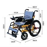 T-Rollstühle Aluminiumlegierungs-Elektrischer Rollstuhl, vierrädriger Roller, All-Intelligent, älterer Behinderter, faltender Rollstuhl