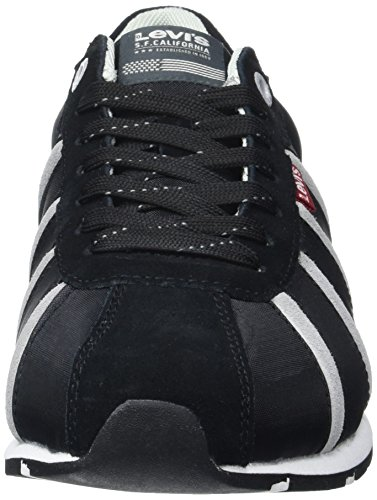 Levis Almayer II, Baskets Basses Homme Noir (Noir Regular Black)