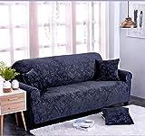 Elastische anti-rutsch Sofa-Überwürfe abdeckungen für ledersofa full cover möbel protector für 1 2 3 4 kissen sofa-C Sofa