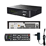 Edision progressiv HDc + nano plus LED Full HD Satelliten-Receiver schwarz