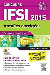 Concours IFSI 2015 - Annales corrigées: Epreuves écrites et orale