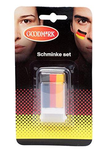 t Deutschland, 2er Pack (2 x 1 Stück) (Einfach Duo-halloween-kostüme)
