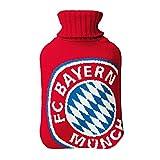FC Bayern Wärmflasche rot
