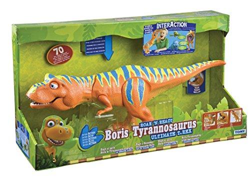 Grandi giochi gg02007 - dino train boris tirannosauro rex interattivo