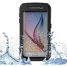 Theoutlettablet® Funda Sumergible acuática para Samsung Galaxy S6 COLOR NEGRO