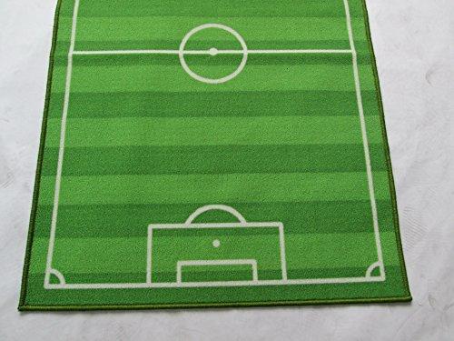 Tappeti Per Bambini Campo Da Calcio : Funkybuys® tappeto per bambini campo di calcio design moderno