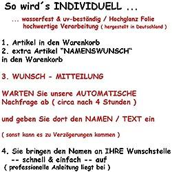 alles-meine GmbH Nachkauf - für Namenswunsch / Alles-Meine.de
