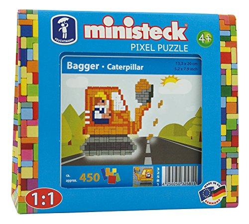 450 Bagger (Ministeck 32581 - Baustelle - Bagger, ca. 450 Teile)
