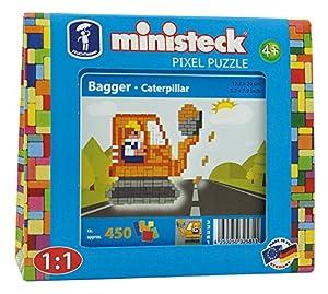 Ministeck 32581-Construcción Excavadora, steckplatte, Accesorios, Aprox. 450de Piezas