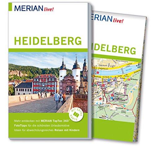 MERIAN live! Reiseführer Heidelberg: Mit Extra-Karte zum Herausnehmen