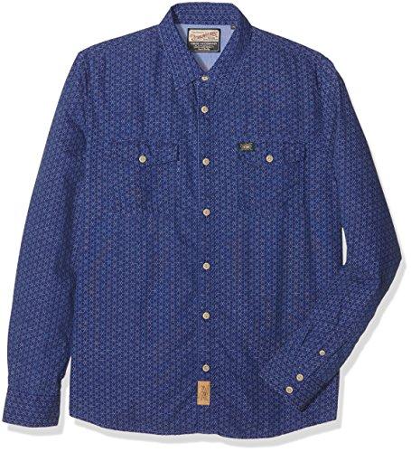 Petrol Industries Shirt LS 578-/-M-FW16-SIL541, Camicia Formale Uomo, Capri, M
