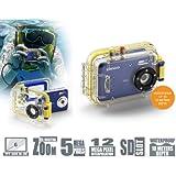 """Lenco DC-5105 Appareil photo numérique 5 mégapixels, zoom numérique 8 x, écran 6,8 cm (2,6"""") (Bleu) (Import Allemagne)"""