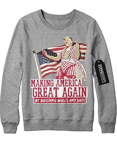 sweatshirt-donald-trump-making-america-great-again-by-building-walls-and-shit-d123457-grau-m