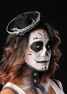 Chapeau Mariachi mexicain Sombrero Mini noir