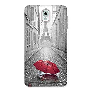 Tower Red Umbrella Back Case Cover for Galaxy Note 3