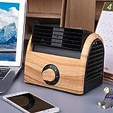 GX&XD Mini portable Ventilateur climatiseur,Calme sans lame Les refroidisseurs évaporatifs Petit ventilateur de bureau Table Refroidisseur d'air de Pour Étudiant Dortoir Office-D