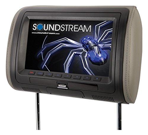 Soundstream vh-90hd Universal Ersatz Kopfstütze Vorinstallierte 22,9cm LCD/MobileLink Eingang (Vh-audio)