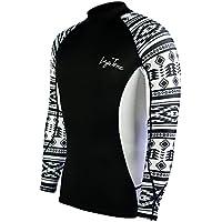 LayaTone Rash Guard Rash Vest con Secado Rápido Stretch Manga Larga para Natación Fitness Surfing Snorkeling