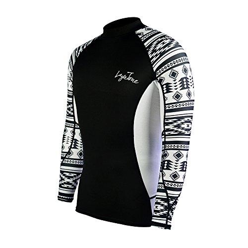 Layatone Rash Guard Herren UV Sun Protection (UPF) 50 Shirts Lycra Wetsuit Top
