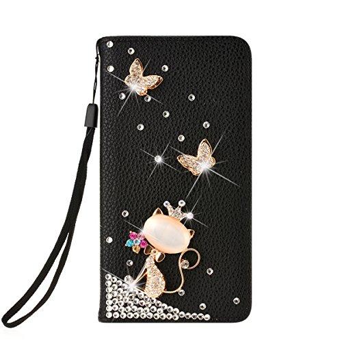 SMARTLEGEND Custodia in Pelle per iPhone 6 Plus iPhone 6S Plus, Stampata Rigida PU Cuoio (Kingdom Hearts Corona)