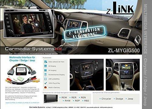 Multimedia Interface AV RFK TV Frei Charger Challenger RAM Nitro Wrangler Dakota
