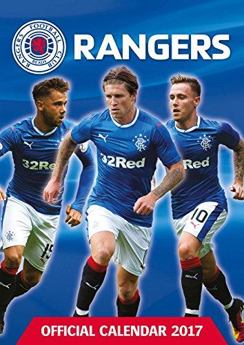 Glasgow Rangers Official 2017 Calendar - Football A3 Wall Calendar 2017