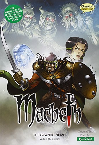 Macbeth The Graphic Novel: Quick Text (British English)
