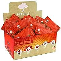 BRAMBLE! 40 Pares Premium Calentadores de Pies - Foot Warmers Adhesivos | 8-10
