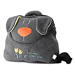 BELK Big Face Pillow Soft Cotton Stuffed Cuddly Plush Toy Kid Backpack Toddler Pre School Lunch Bag / Travel Backpack