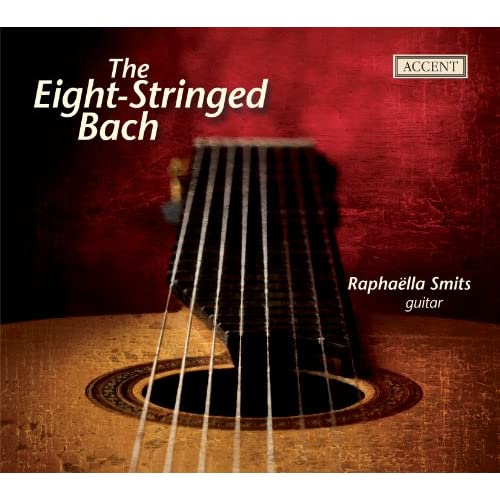 Bach: Arrangements for eight-string guitar by Raphaella Smits