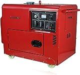 KRAFTHERTZ® Diesel Stromerzeuger Generator 5500 Watt ( 5,5 kW ) DIESELAGGREGAT 1 & 3 Phasen (1 Phase 5,5 kW)