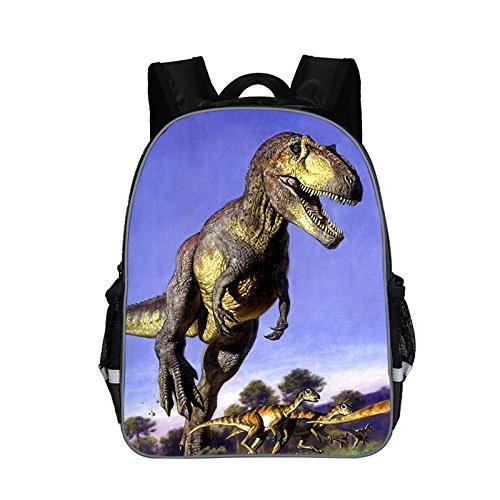 Imagen de moolecole unisex 3d animales imprimir  dinosaurio para niños  para niños  muchachas de los muchachos del niño del bolso de escuela de guardería