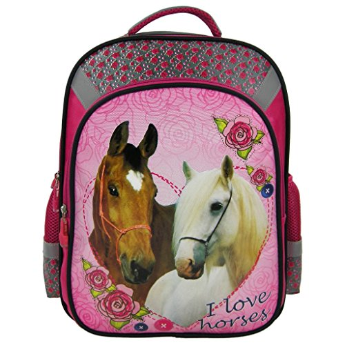 chevaux-grand-sac-a-dos-cartable-ecole-loisirs-extrascolaires-i-love-horses-pony-poney