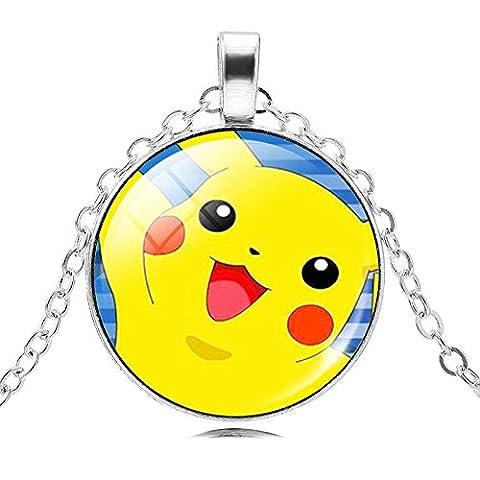 POKEMON- Collier Pikachu jaune modèle
