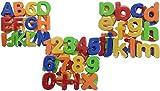 KSS Magnet Buchstaben und Zahlen Magnetisches Alphabet Groß und Klein + Zahlen 78 teilig hergestellt von KSS