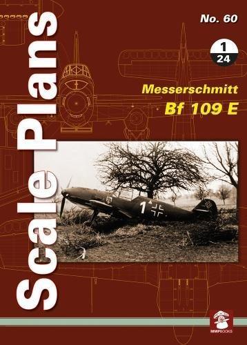Scale Plans No. 60: Messerschmitt Bf 109 E 1/24 por Dariusz Karnas