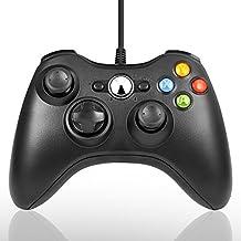 PC Controller, Maexus Wired Gamepad für Xbox 360 Windows Micsoft (Windows XP, Vista, 7, 8, 8.1, 10), Schwarz