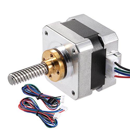 sourcing map Nema 42 Schrittmotor Bipolar 37mm 0.27NM 0.4A 5.2V für CNC 3D Drucker Robot DIY DE