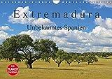 Extremadura - Unbekanntes Spanien (Wandkalender 2019 DIN A4 quer): Die Extremadura, das Herkunftsland der spanischen Konquistadoren, verzaubert Sie ... 14 Seiten ) (CALVENDO Orte) - CALVENDO