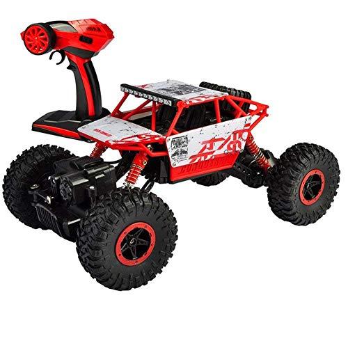 GLXLSBZ 4WD Rock Crawler RC Car Geländewagen Auto Fernbedienung Monster Truck/Off Road Fahrzeug Geeignet für Spielzeugautos für Kinder ab 4 Jahren