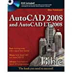 AutoCAD 2008 and AutoCAD LT 2008 Bible [With DVD][ AUTOCAD 2008 AND AUTOCAD LT 2008 BIBLE [WITH DVD] ] By Finkelstein, Ellen ( Author )Jul-01-2007 Paperback