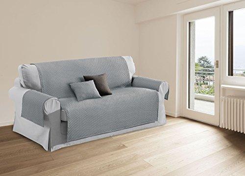 Capitan Casa protège-canapé canapé Effet de Massage Modèle Sphere Fodere Cuscini 40x40 Gris