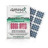 160 original Gatapex gitterförmige Akupunkturpflaster in verschiedenen Farben, Gemischt