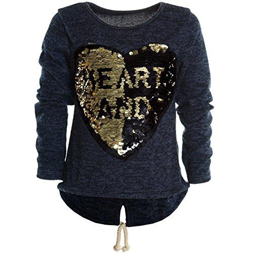 Mädchen Kinder Winter Strick Pullover Pulli Hoodie Hoody Sweat Shirt Jacke 20679