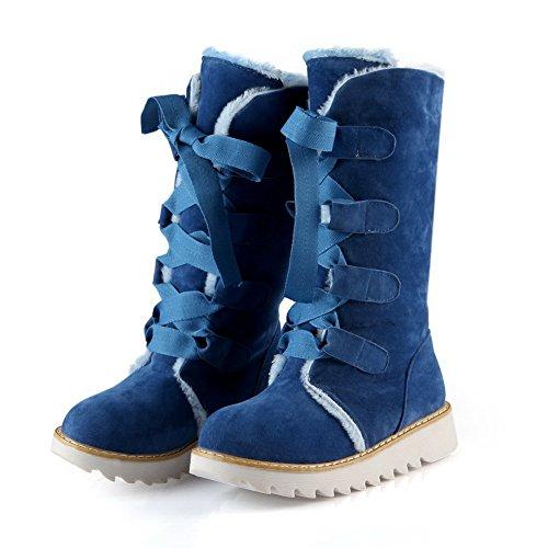Adee, Bottes pour Femme Bleu