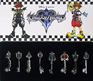 Kingdom Hearts II Porte-clés Un ensemble de 8 espèce 1 fixer
