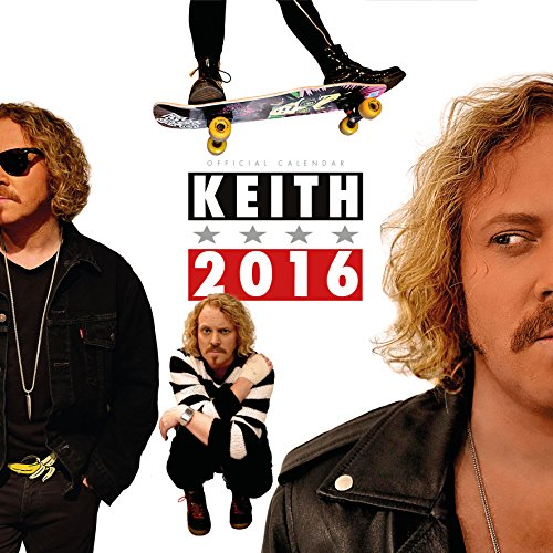 The Official Keith Lemon 2016 Square Calendar