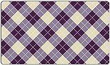 Argyle Playmat Purple