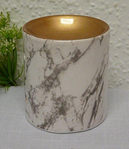 Graveur Lampe à Parfum Burner ~ marbre ~ Céramique 8 x 9 cm